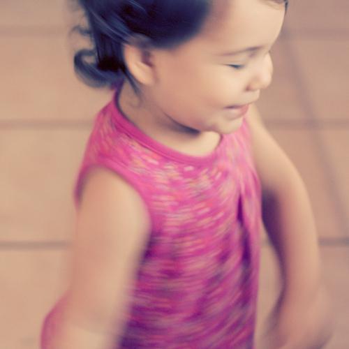 gratitude: love to watch my baby dance