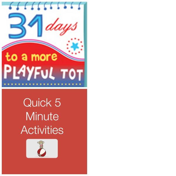 Quick 5 Minute Activites
