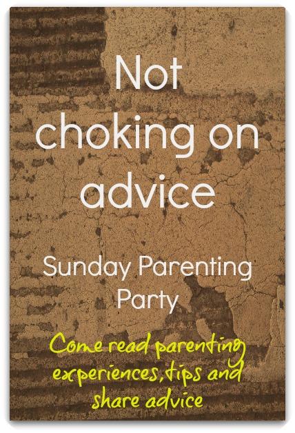 Not choking on advice
