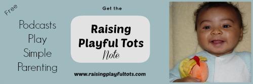 Raising Playful Tots Note