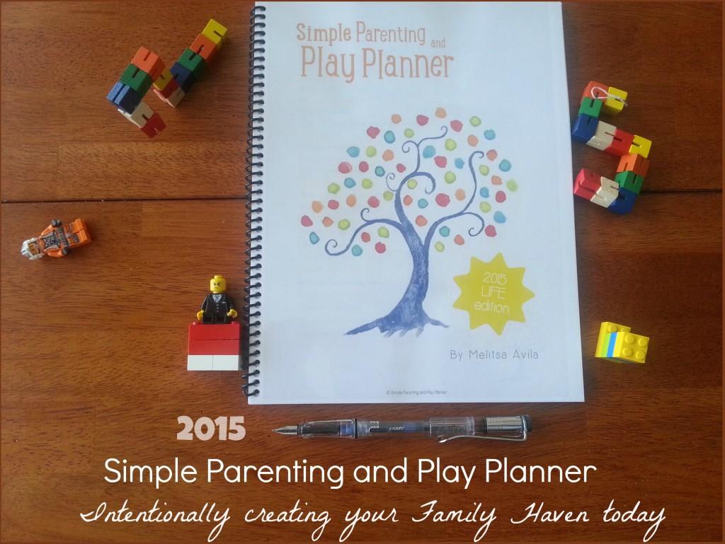 2015 Simple parenting planner