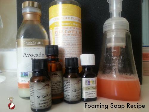 foaming soap recipe
