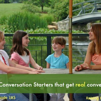 Handy Conversation Starters that get real conversation