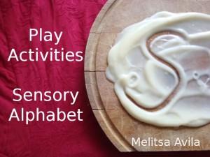 69. Everyday sensory alphabet activities
