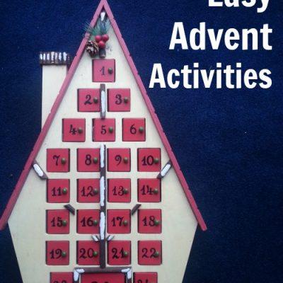 Easy Advent Activities