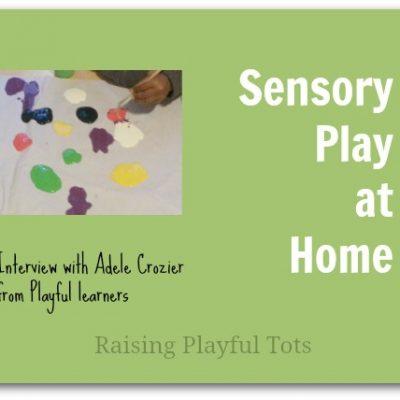 Sensory Play at Home  #134